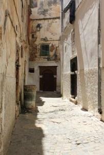 Une impasse dans la casbah d'Alger. Crédits Photos : Jasmine Kerioudj