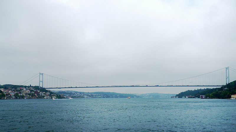 Détroit du Bosphore - Istanbul - Crédits Marie-Hélène Cingal