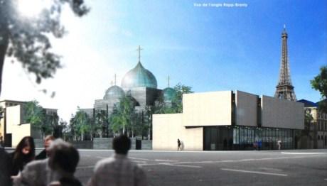 Eglise Orthodoxe Russe de Paris - Projet Wilmotte
