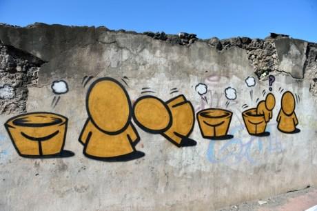 Graffiti signé Jace. Crédit Photo: Archipel CDUC