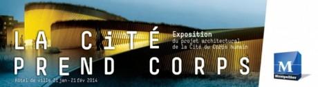 """Affiche de l'exposition """"La Cité prend Corps"""". Crédit photo: Montpellier"""