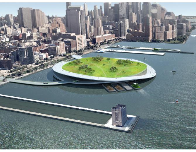 Visuel du projet Green Loop - PRESENT Architecture