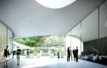 Espace de conférences (crédits : ©Auer Weber / VIZE)