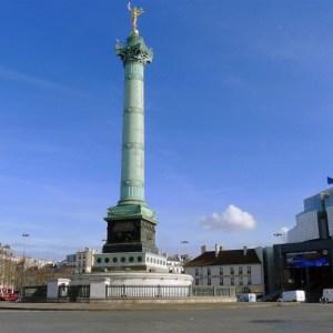 La Place de la Bastille - Paris