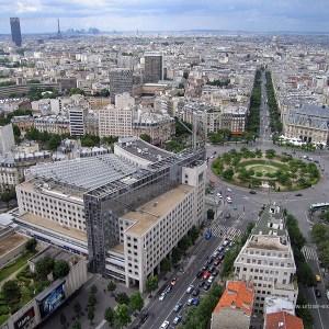 La Place d'Italie - Paris