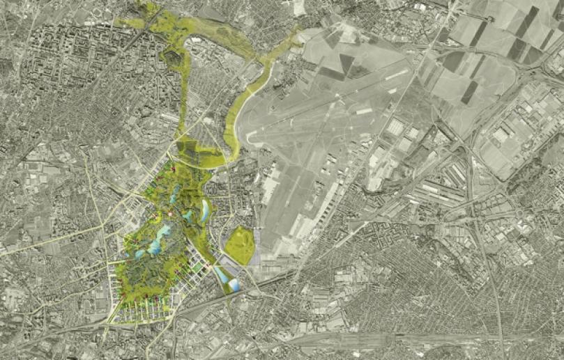 Un central park de 400 hectares aux portes de paris for Atelier roland castro