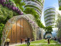 Antismog Towers - Paris Smart City 2050 - © Vincent Callebaut