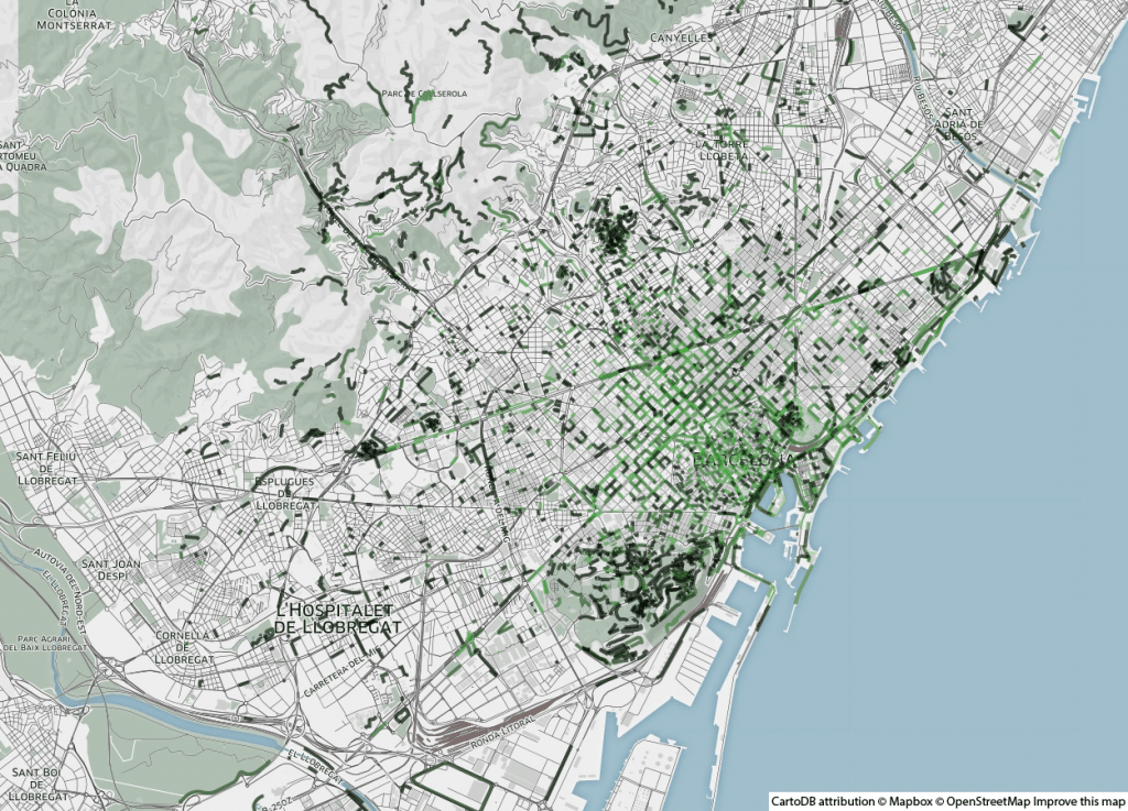 Odeurs de Nature - Barcelone - Smelly Maps