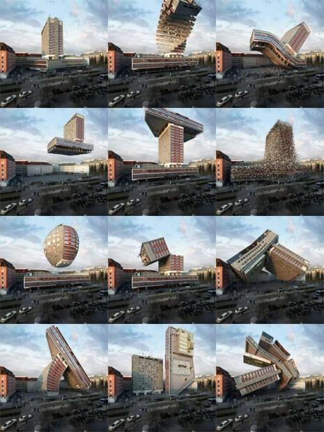 Photomanipulations, déformations, déconstruction, reconstruction, modélisation / © Víctor Enrich