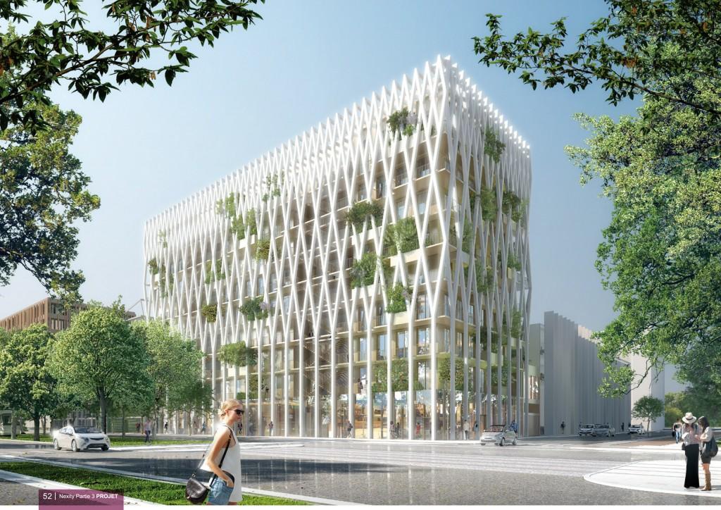 Nice accueillera une tour de bois de 9 tages d s 2018 urbanews - Immeuble ecologique ...