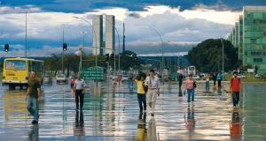 Une rue de Brasilia / © Iwan Baan