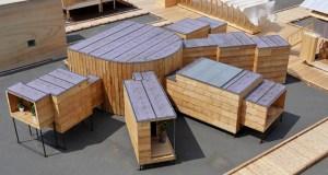 Concept architectural d'un logement co-dividuel par TOTO + YKK AP / © House Vision Tokyo