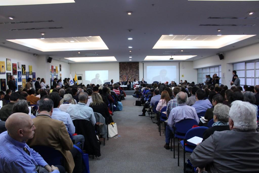 Séance inaugurale de H3A à FLACSO, avec la présence notamment des maires de Madrid et Barcelone, 17.10.2016.