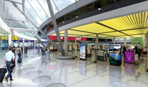 Terminal 1 - Aéroport Saint-Exupery - Lyon
