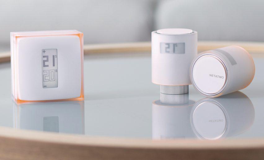 Netatmo et Philippe Stark - Thermostat connecté