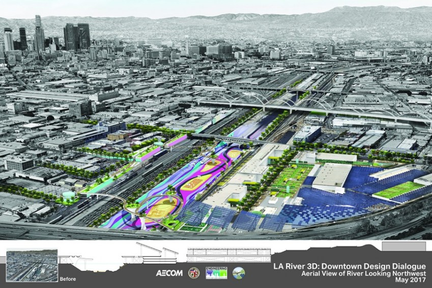 170525 - Los Angeles River Downtown Design Dialogue - AECOM Digital Presentation3