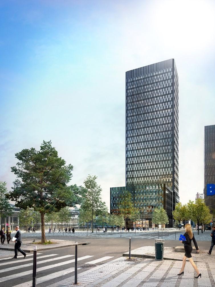 To -Lyon - La Part Dieu - © Dominique Perrault Architecte