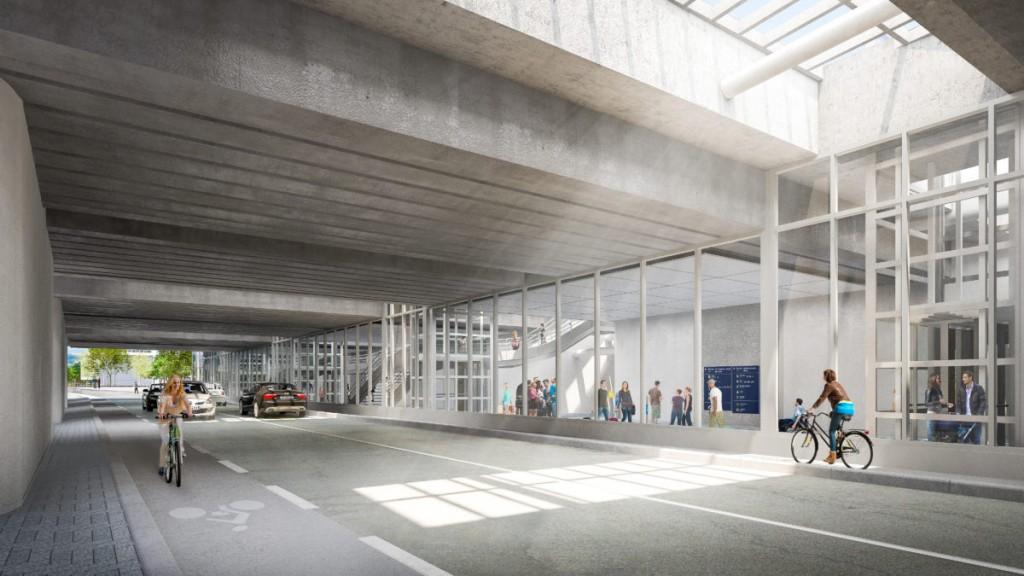Nouveaux accès au sud de la Gare Part-Dieu
