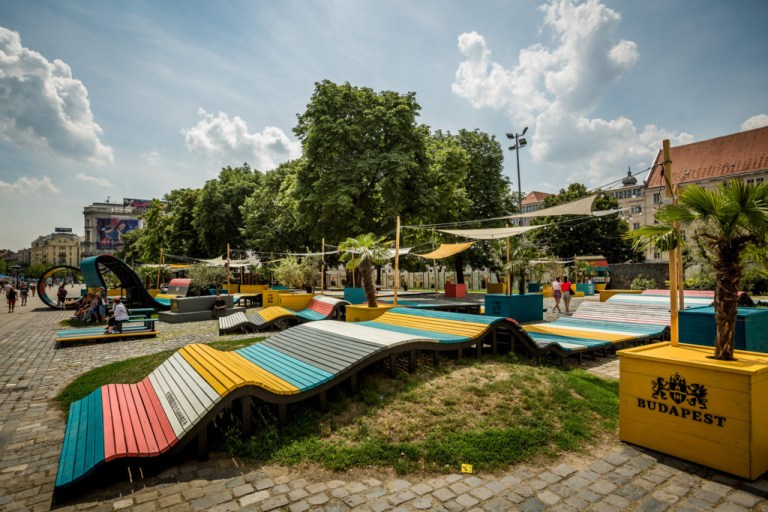 Budapest pop-up park Photo: Mudra László - We Love Budapest