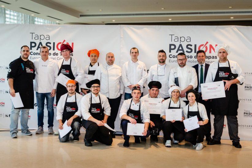 Eurostars premia a los mejores estudiantes de cocina en su concurso Tapa Pasión