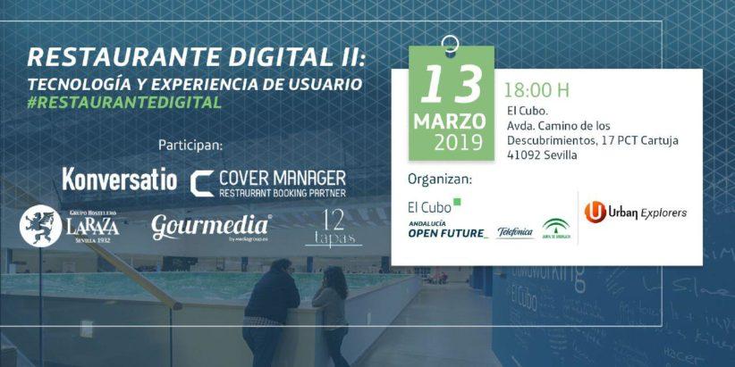 Evento Urban Explorers: #RestauranteDigital II