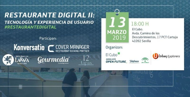 Evento Urban Explorers: #RestauranteDigital II