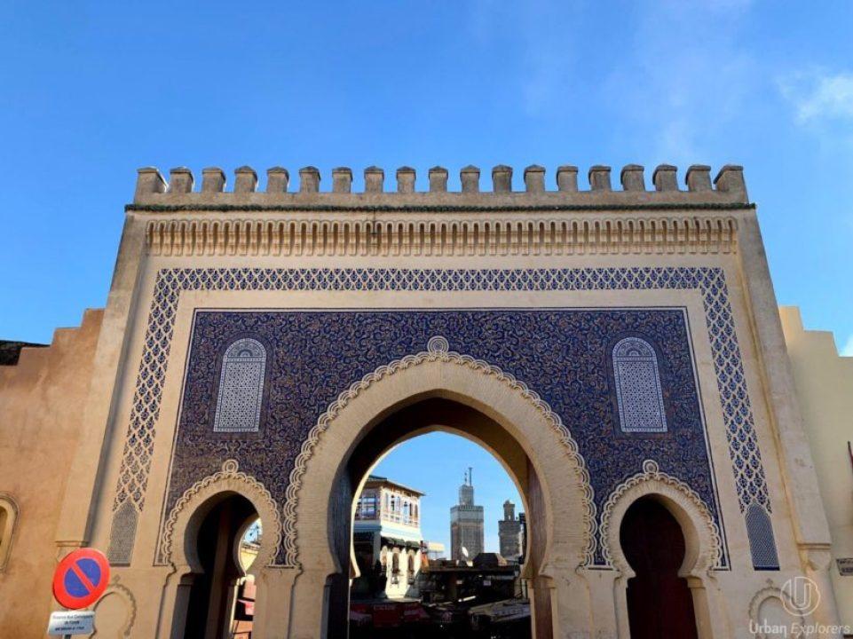 Bab Boujloud puerta azul fez viajes desde Sevilla
