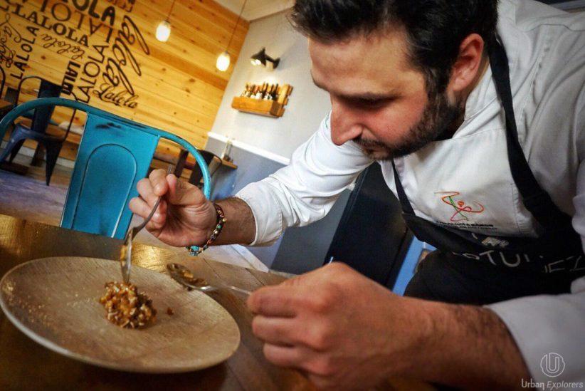 Conoce plato a plato el menú degustación 100% ibérico de LaLola y Arturo Sánchez