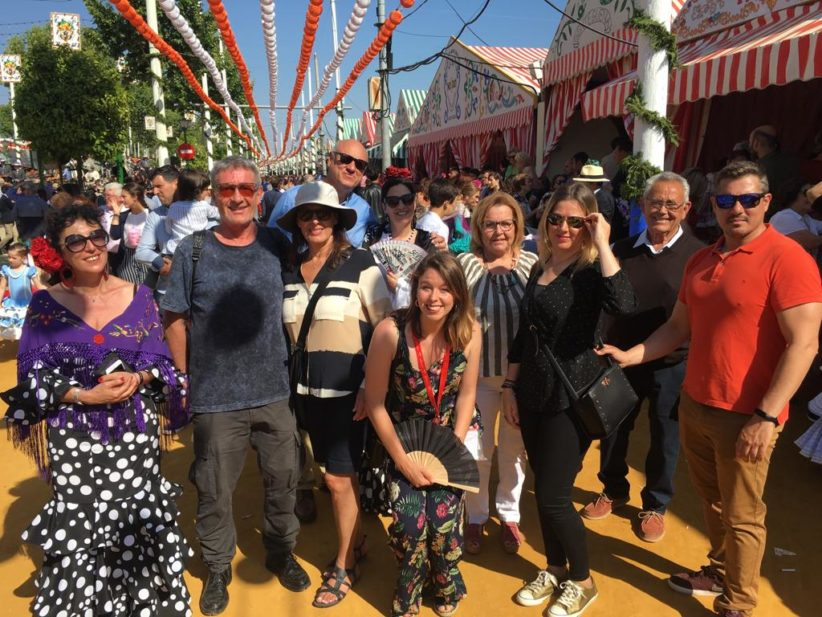 visitas guiadas gratuitas turismo feria sevilla