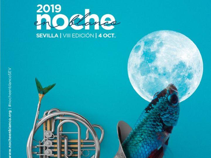 Así es el cartel de la Noche en Blanco 2019 de Sevilla