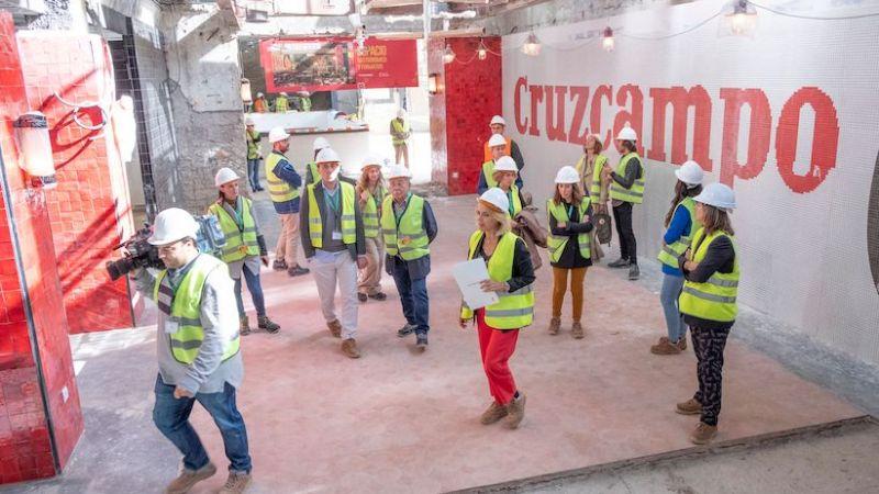 Av. Andalucía 1: la Fábrica de Experiencias de Cruzcampo abre en mayo