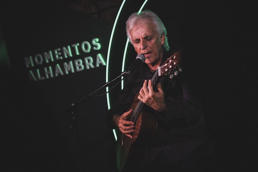Kiko Veneno actúa en Sevilla dentro del ciclo Momentos Alhambra