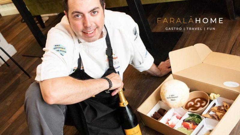 Faralá Home es la nueva línea de comida a domicilio de Javier Feixas