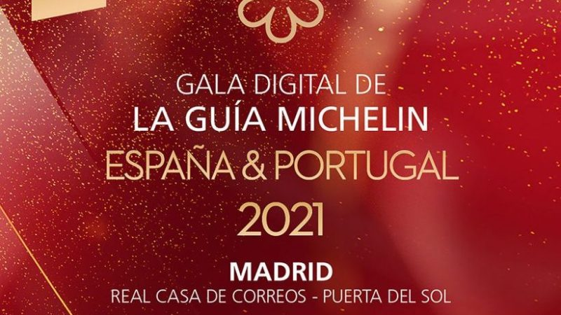 La Guía Michelin 2021 de España se entregará en una gala virtual