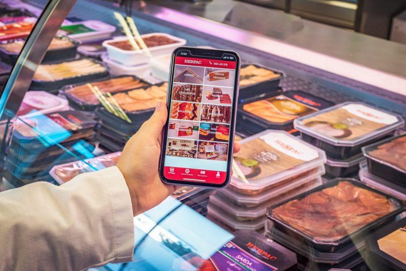 Herpac amplía sus canales de venta online con su propia app