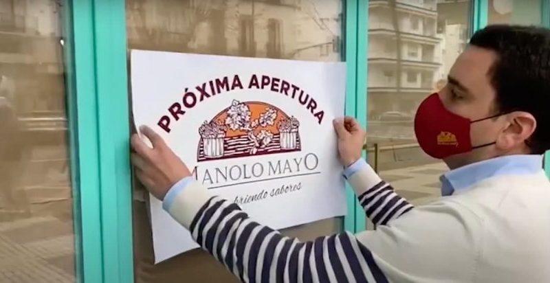 Mayo comienza a funcionar en el Hotel Bécquer con envío a domicilio