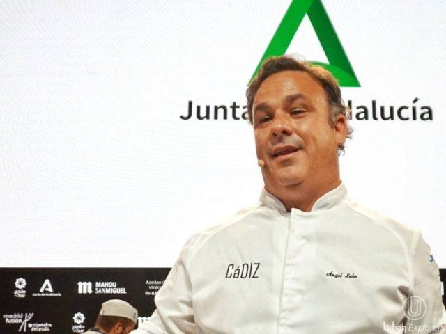 Ángel León en Madrid Fusión 2021