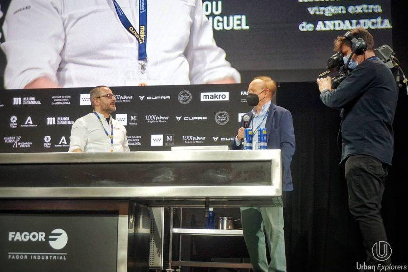 Pedrito Sánchez demuestra en Madrid Fusión que sencillez y creatividad son compatibles