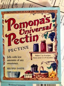 I like to use Pomona Pectin as you can have a fresher, healthier jam using much less sugar.