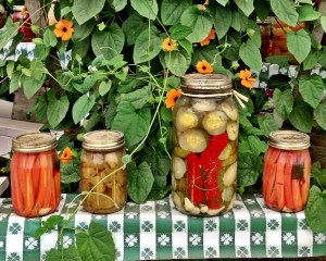 Enticing displays to get the pickling juices flowing