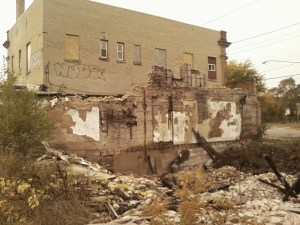 Abandoned places in Flint.