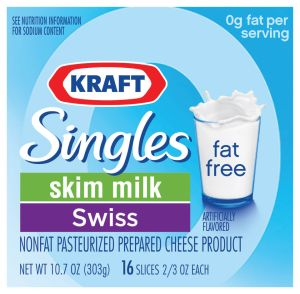 NYC Grocery Delivery - Swiss - Kraft Fat Free Singles ...