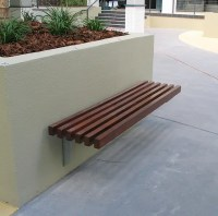 Bench Seat Wall Mounted   Urban FF