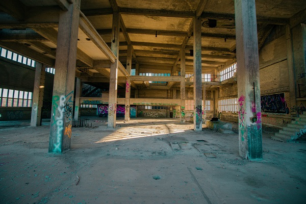 leeres Gebäude