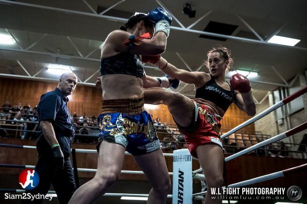 Melina's WMC Australian Title Fight