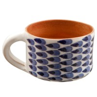 Handmade Coffee Mugs for sale | Hand Painted Drops II