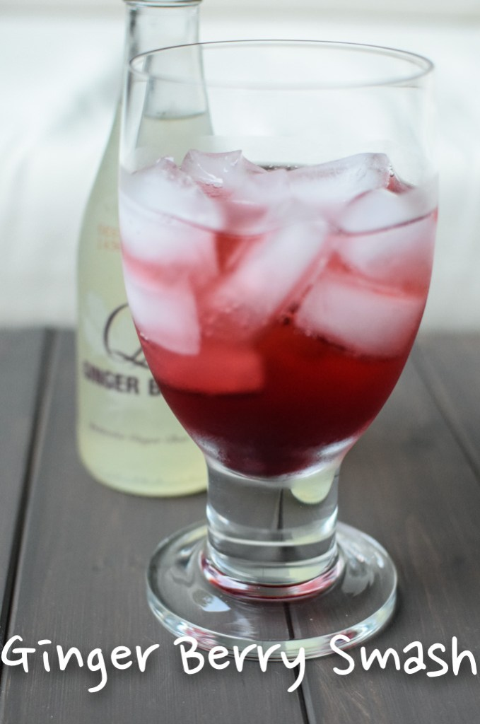 Ginger Berry Smash - Q Ginger Beer