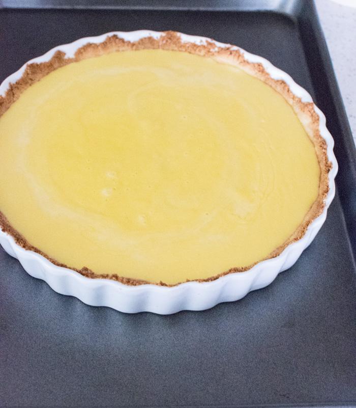 Lemon Tart before baking
