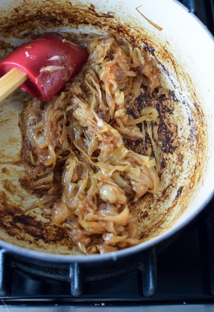 Onions Caramelizing