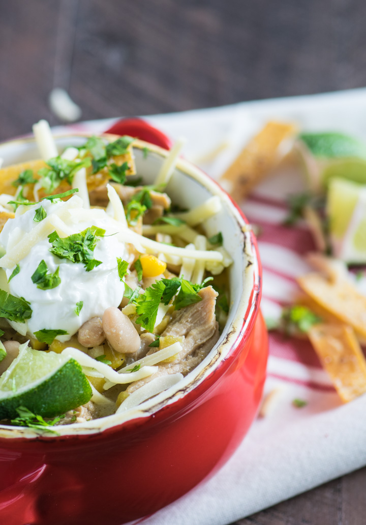 Creamy Chicken Chili